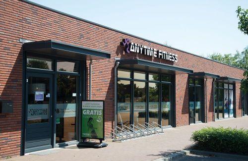 Anytime Fitness gevel