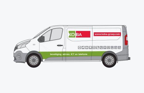 Koba autobelettering