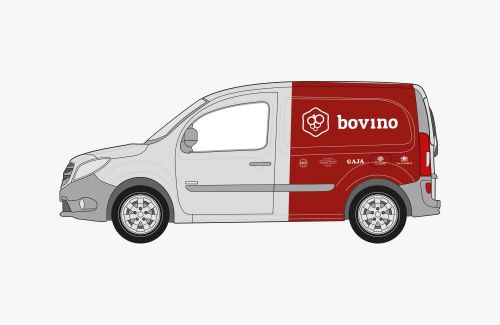 Bovino autobelettering