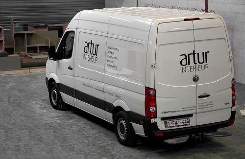 Artur Interieur bus